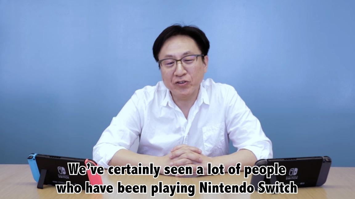 Nintendo Switch Aniversário de 1 ano - Conversa com o desenvolvedor Mr. Takahashi