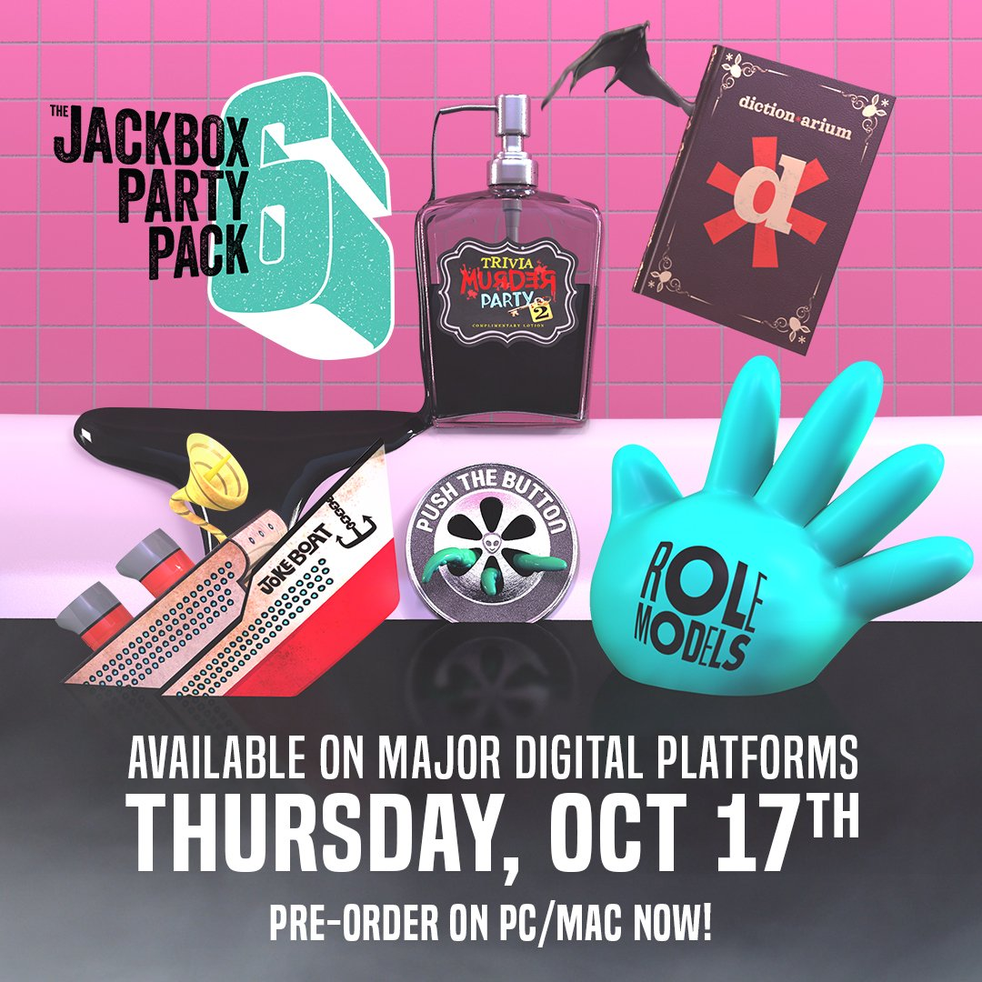 The Jackbox Party Pack 6 launches October 17 - Nintendo ...