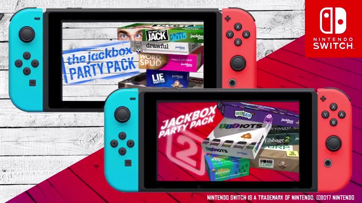The Jackbox Party Pack 1 and 2 announced for Switch ...