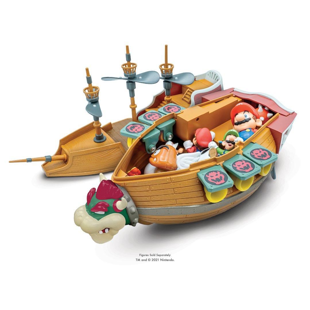 Bowser's Airship Playset