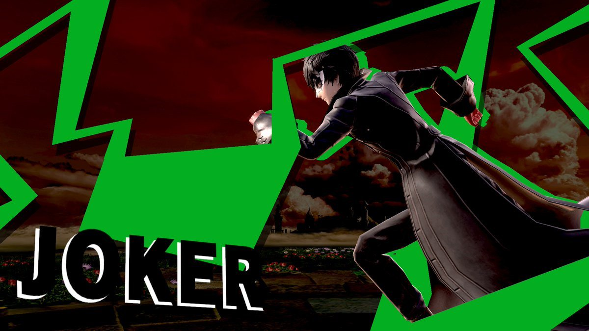 A few more tidbits about Joker's DLC in Super Smash Bros  Ultimate