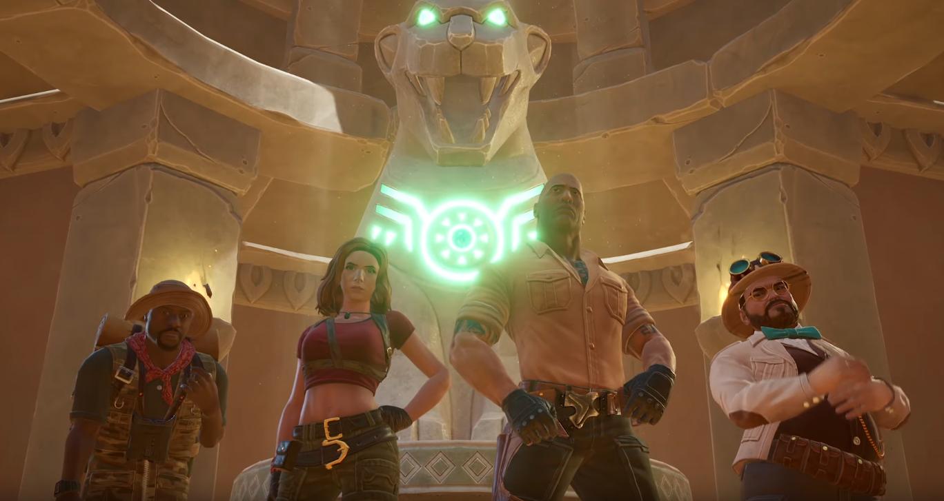 Jumanji: The Video Game – launch trailer