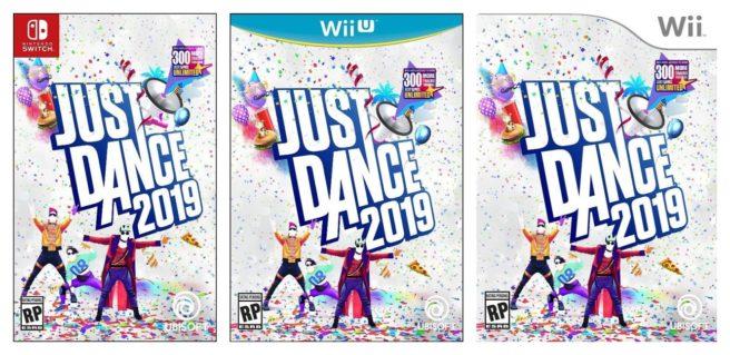 Just Dance 2019 boxarts