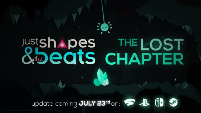 """Just Shapes & Beats - """"The Lost Chapter"""" update"""