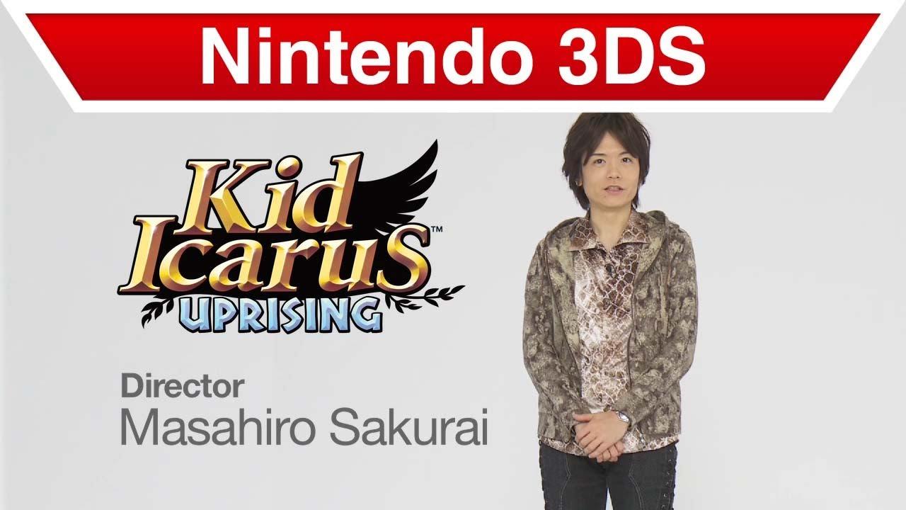 Sakurai doesn't think modern Kid Icarus: Uprising port would