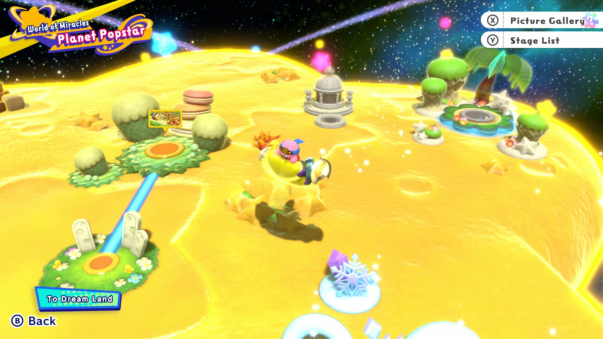 Kirby star allies dev explains world map changes and allowing for kirby star allies world map gumiabroncs Image collections