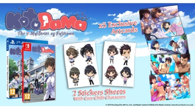 Kotodama: The 7 Mysteries of Fujisawa launches June 4 in North America, May 31 in Europe