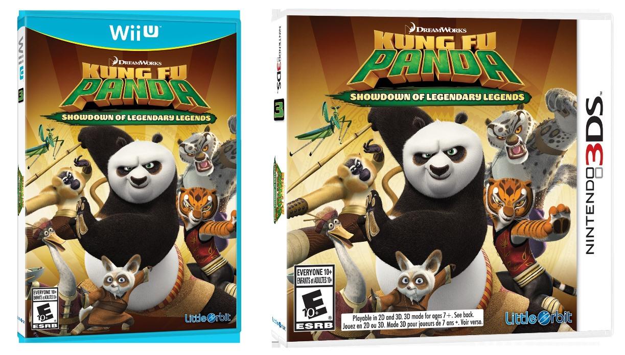 kung fu panda: showdown of legendary legends screenshots - nintendo