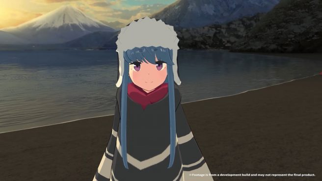 Laid-Back Camp -Virtual- Lake Motosu and Fumoto Campsite
