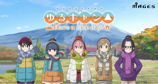 Laid-Back Camp: Have a Nice Day!