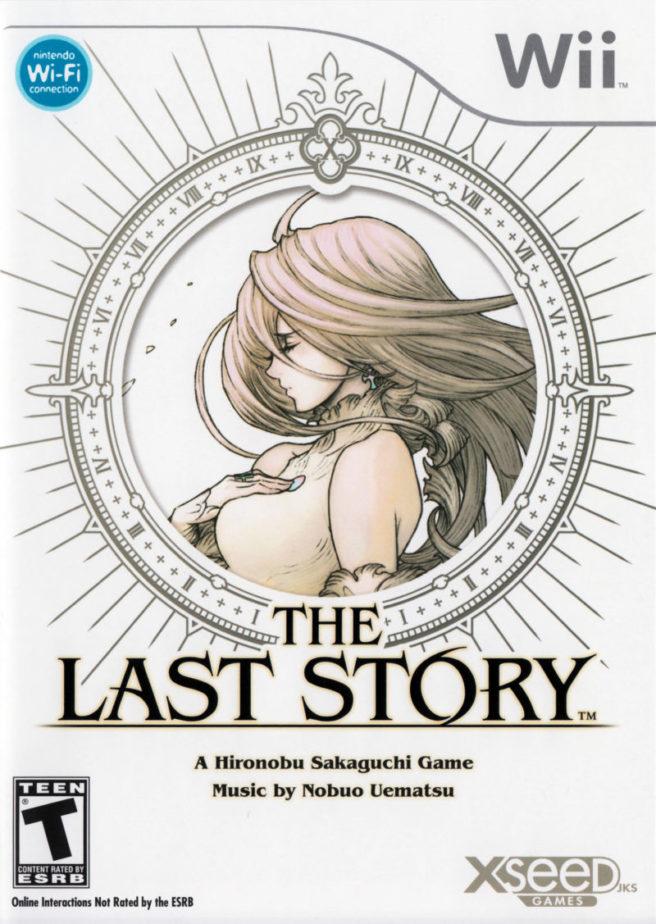 The last story is the only box where the xseed logo was changed due to a request from sakaguchi - The last story hd ...