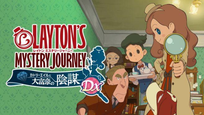 Layton's Mystery Journey DX