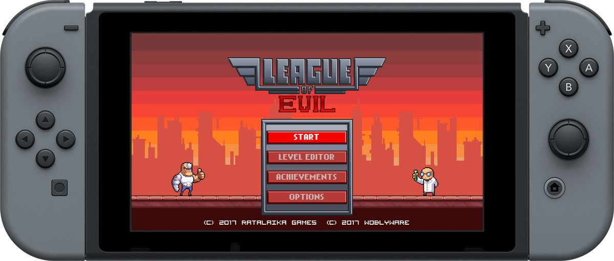 League of Evil Switch level editor teaser - Nintendo Everything