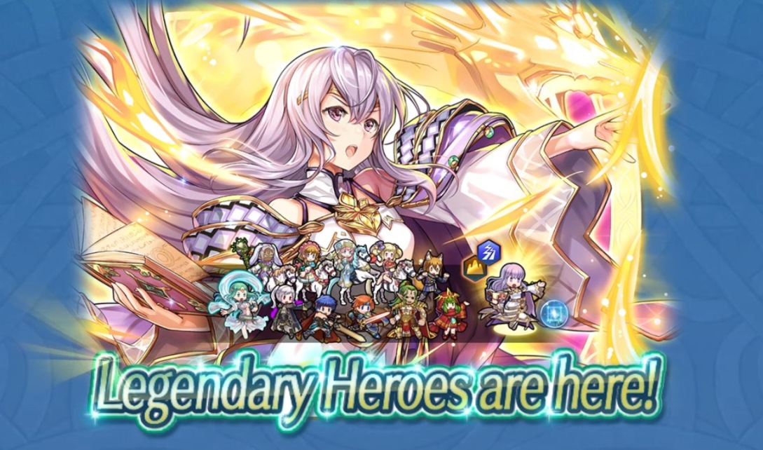 Fire Emblem Heroes adding Legendary Hero Julia: Crusader of Light on August 28
