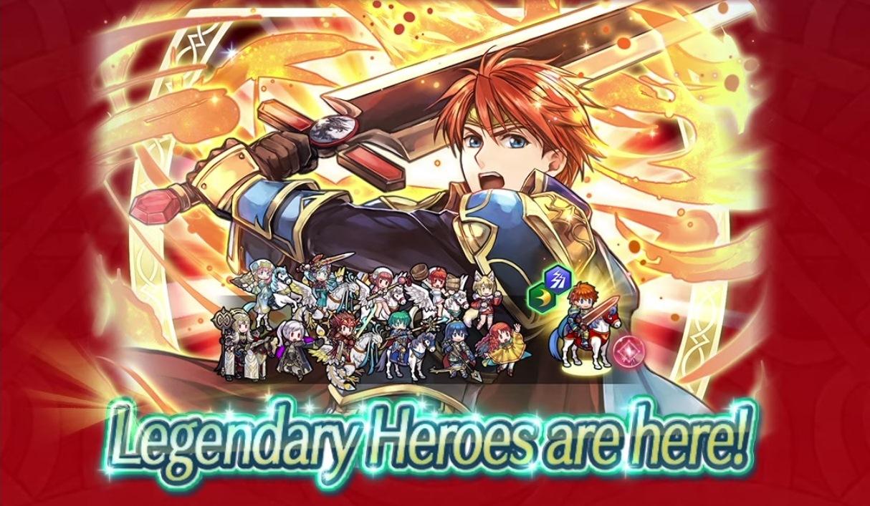 Fire Emblem Heroes Adding Legendary Hero Eliwood Blazing Knight