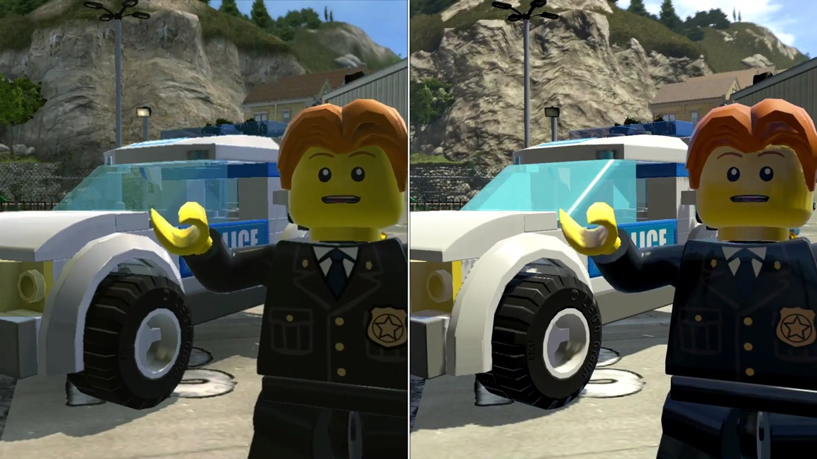 Lego City Undercover Wii U Vs Switch Comparison Nintendo Everything