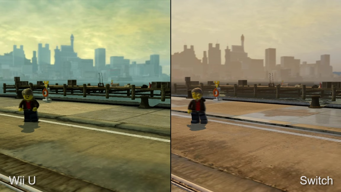 Digital Foundry Compares Lego City Undercover On Switch To Ps4 Wii U Original Nintendo Everything