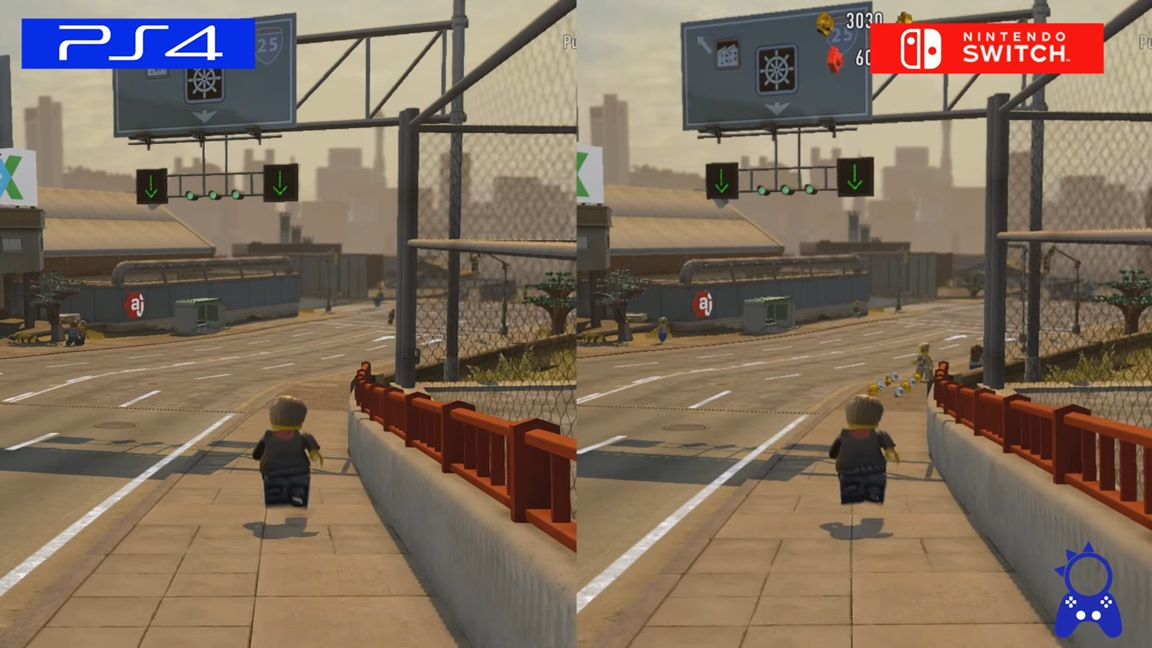 Lego City Undercover Switch Vs Ps4 Comparison Nintendo Everything