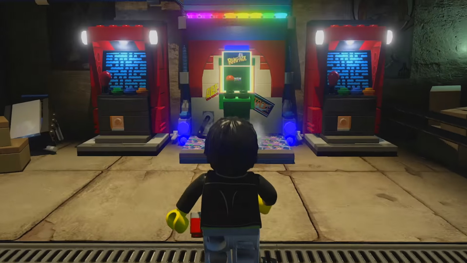 lego dimensions midway arcade gameplay trailer nintendo. Black Bedroom Furniture Sets. Home Design Ideas