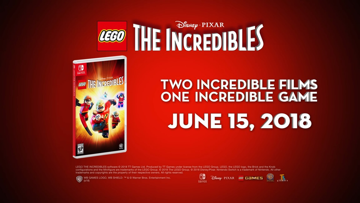 New Lego The Incredibles Details Dev Comments Nintendo Everything