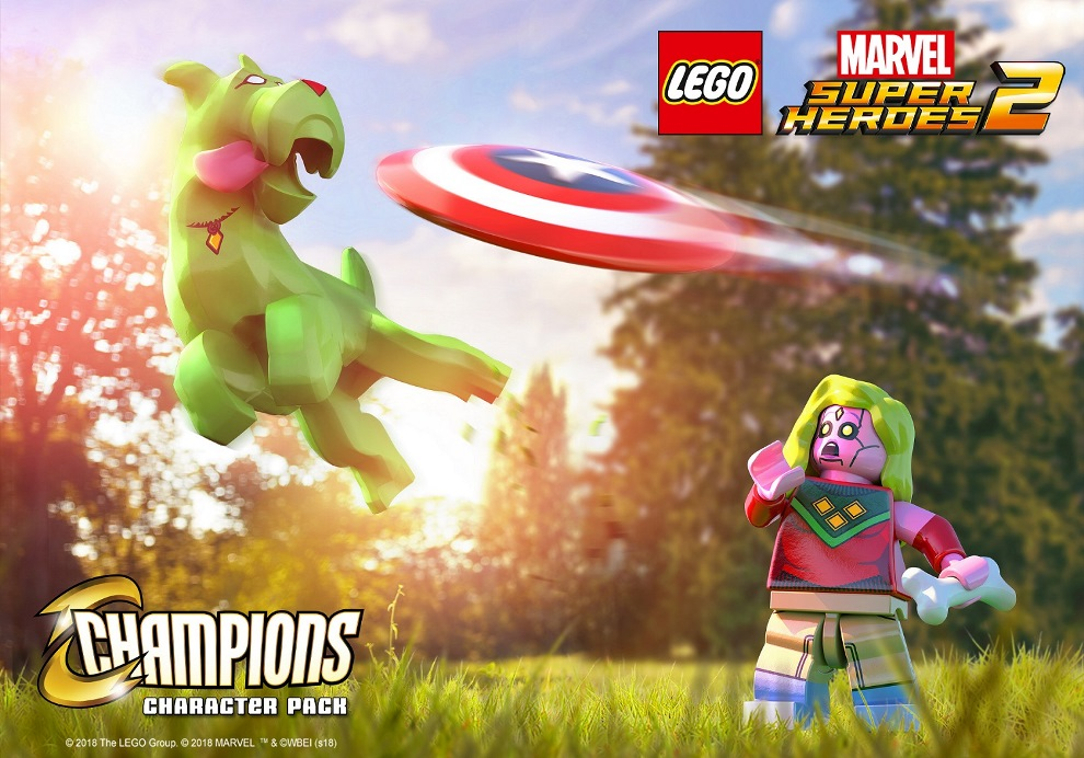 Lego marvel super heroes 2 new champions dlc footage nintendo lego marvel super heroes 2 added new champions dlc this week comprised of several characters purchasing the pack grants access to amadeus cho nova voltagebd Choice Image