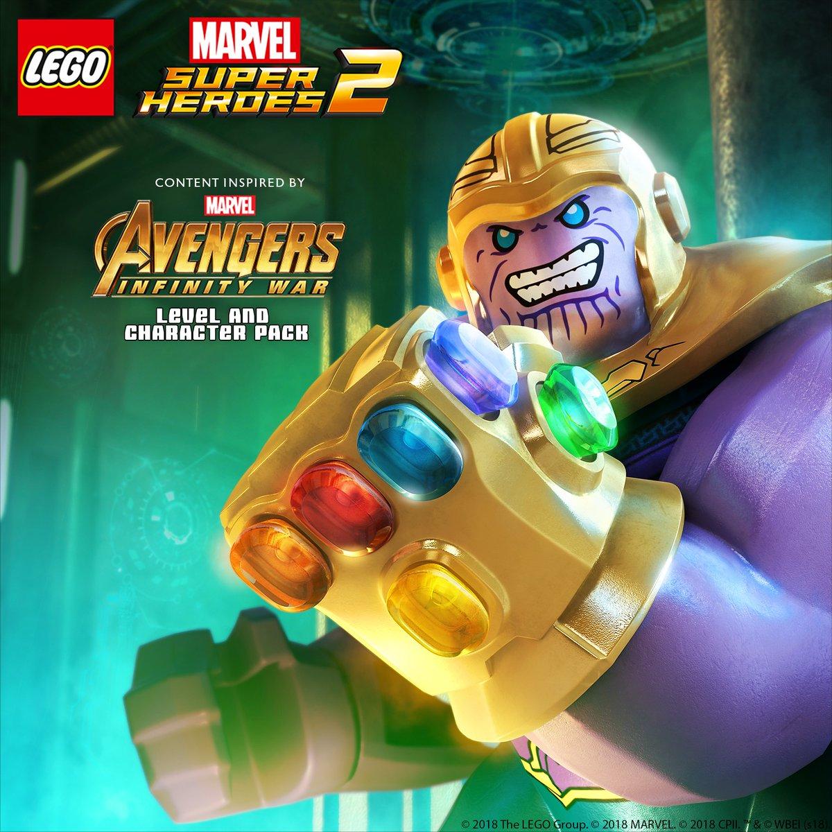 Lego Marvel Super Heroes 2 Avengers Infinity War Dlc Footage