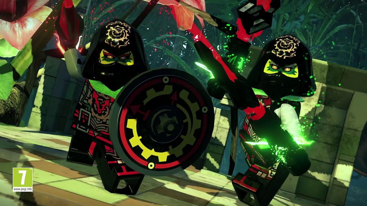 The Lego Ninjago Movie Video Game Enter The Dojo Vignette Nintendo Everything