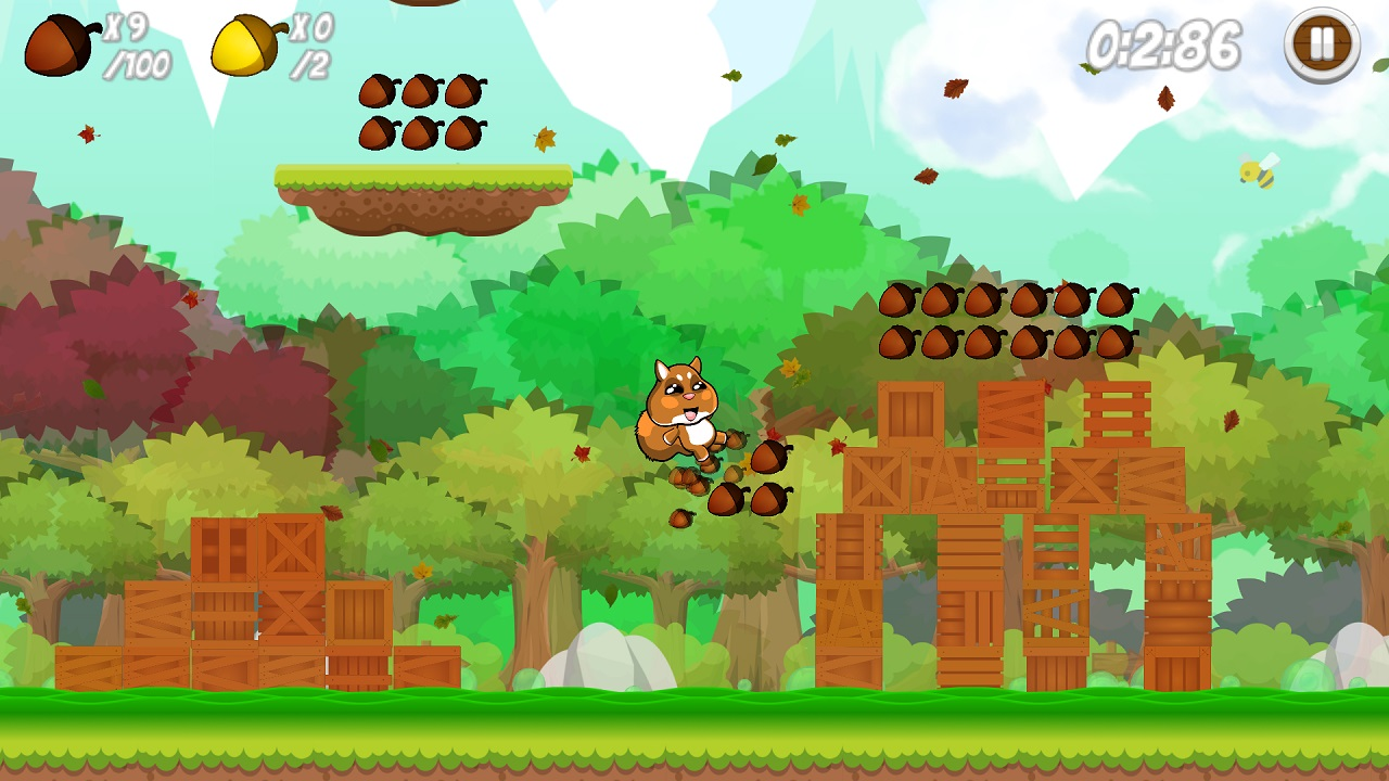 Let's Go Nuts out today on Switch, trailer