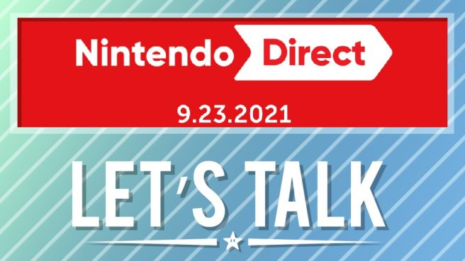 nintendo direct reaction September 2021