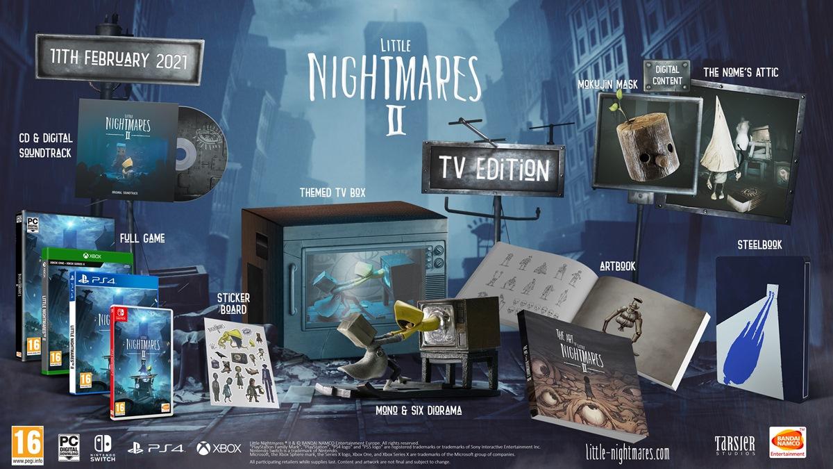 Little Nightmares II TV Edition pre-orders open - Nintendo Everything