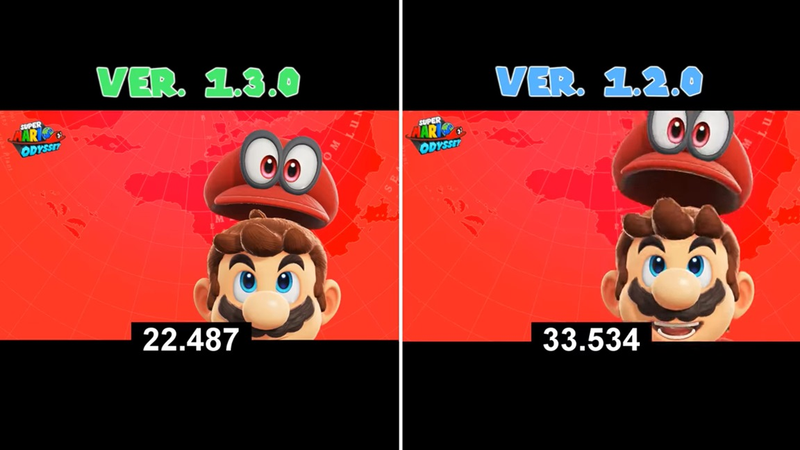 Video A Look At Super Mario Odyssey S Improved Loading Times With Version 1 3 0 Nintendo Everything