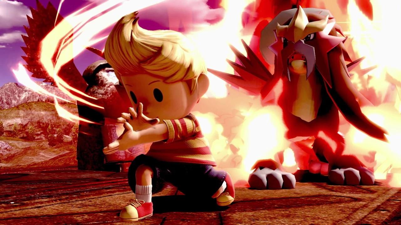 Super Smash Bros  Ultimate – Super Smash Blog update: Lucas