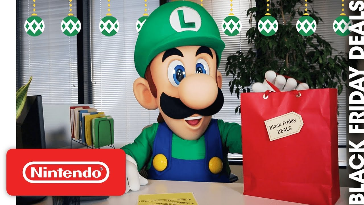 Nintendo Black Friday 2018 Announcement And A Special Video With Luigi Nintendo Everything