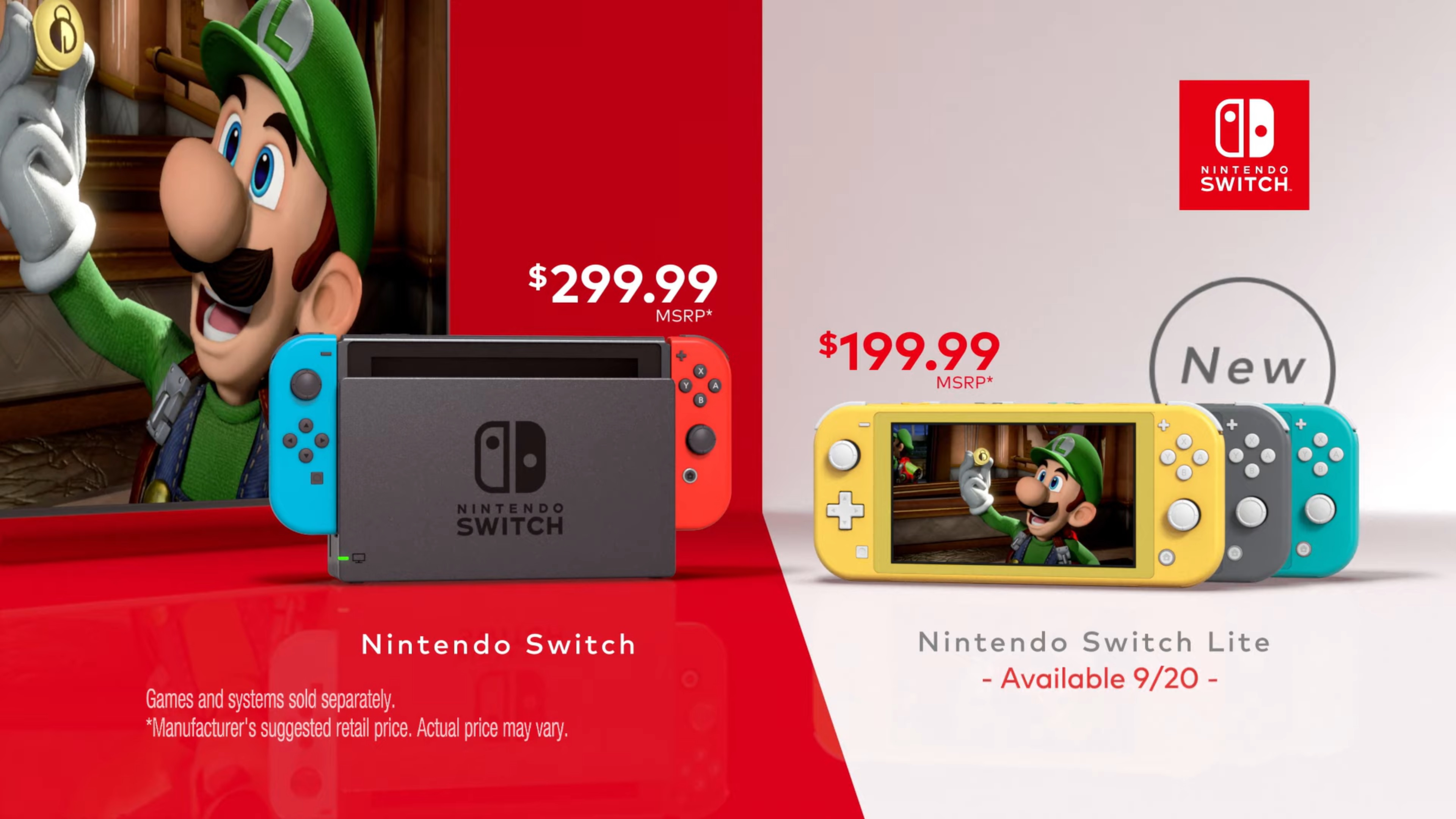 Video My Way Switch Commercials Featuring Luigi S