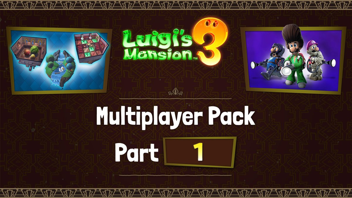 Nintendo Announces Luigi S Mansion 3 Multiplayer Dlc First