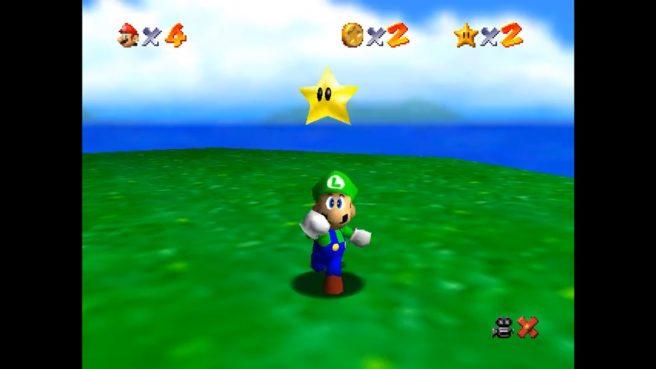 Luigi - Super Mario 64
