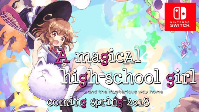 A Magical High School Girl