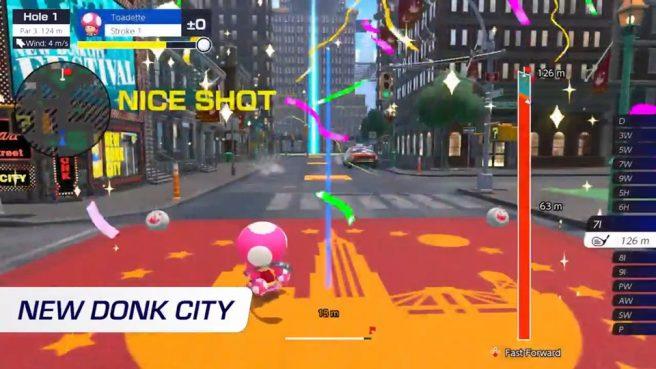 Mario Golf: Super Rush update