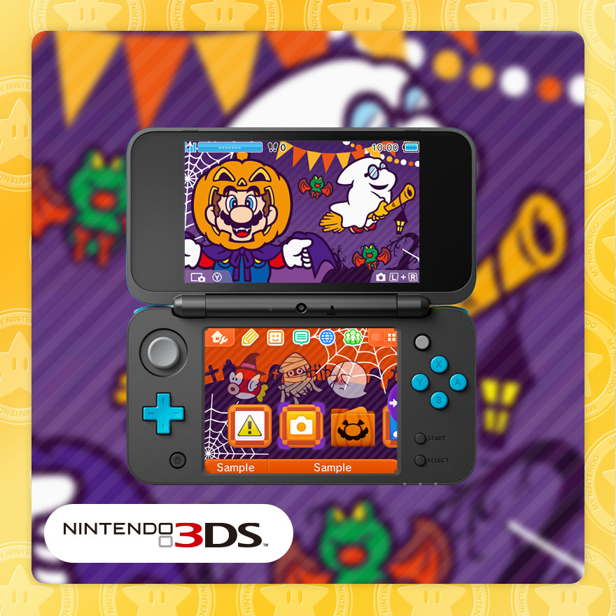 My Nintendo adds a trio of 3DS themes in North America - Nintendo Everything