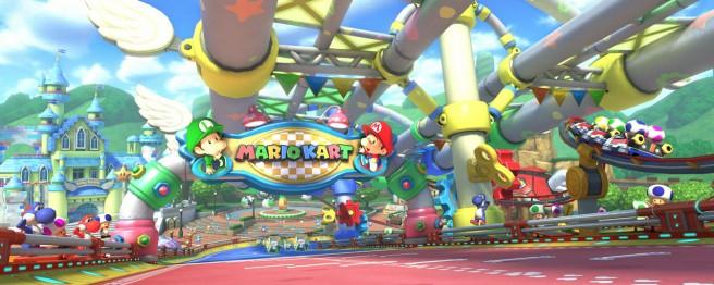 Mario Kart 8 second DLC pack details - Baby Park is 7 laps