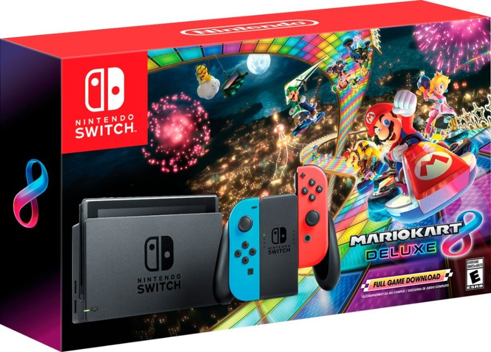 Black Friday Gamestop 2017 >> A look at the Mario Kart 8 Deluxe Switch bundle packaging - Nintendo Everything