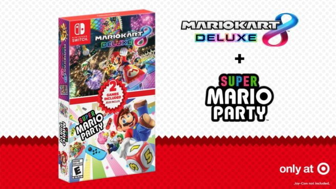 Mario Kart 8 Deluxe + Super Mario Party Double Pack