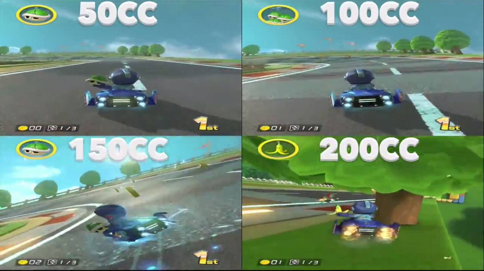 mario kart double dash 200cc