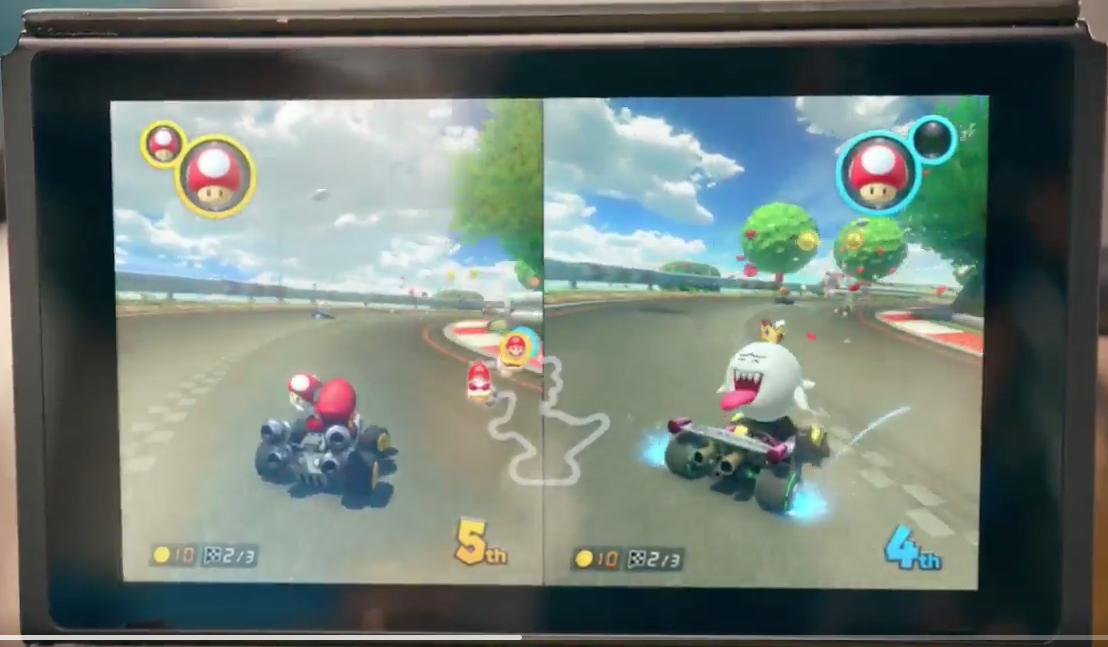 mario kart for nintendo switch will feature king boo return of two items slots nintendo. Black Bedroom Furniture Sets. Home Design Ideas