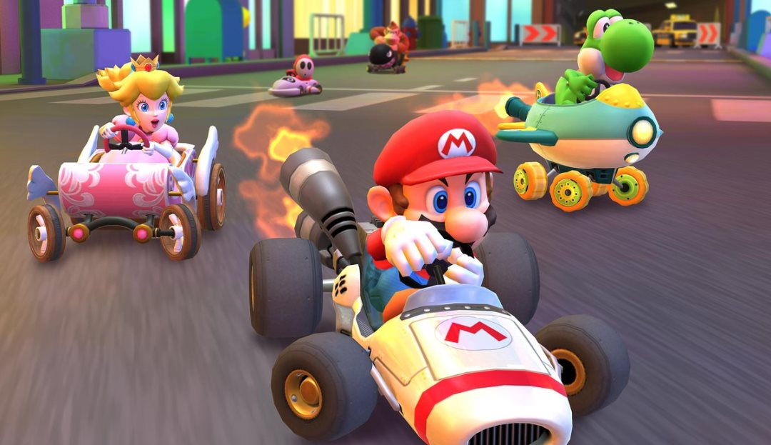 Bandai Namco helped Nintendo with development on Mario Kart Tour, Mario Kart 8 Deluxe and ARMS