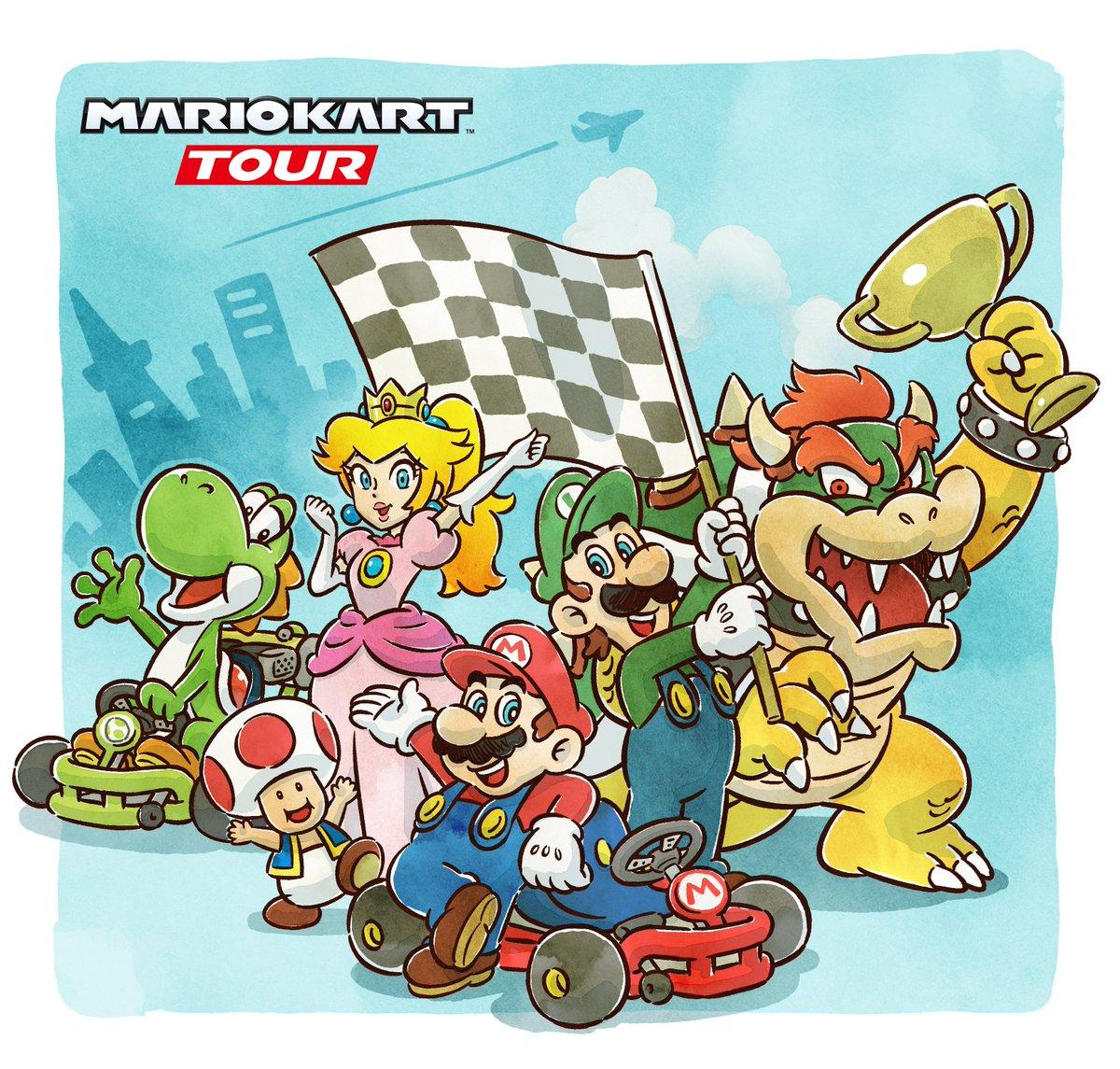 Nintendo President Says Mario Kart Tour Is Off To A Good Start