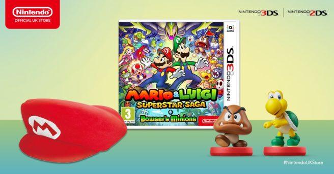 Pre-order Mario & Luigi: Superstar Saga + Bowser's Minions