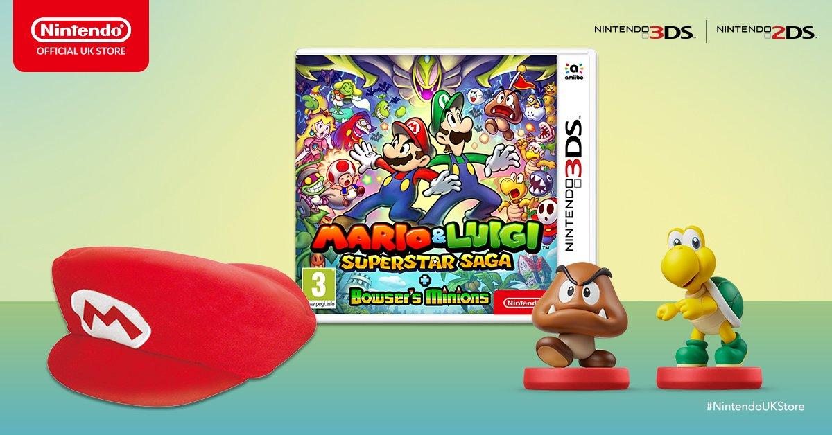Pre Order Mario Luigi Superstar Saga Bowser S Minions