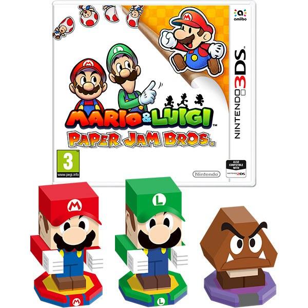 Pre Order Mario Luigi Paper Jam At The Nintendo Uk Store