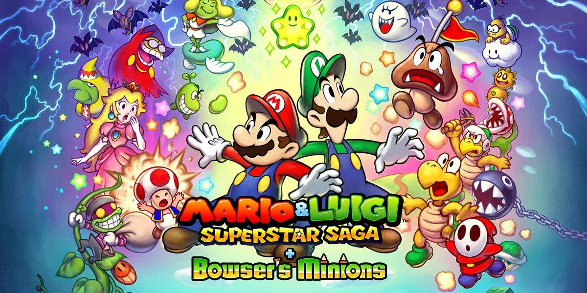 Mario Luigi Superstar Saga Bowser S Minions Pre Load